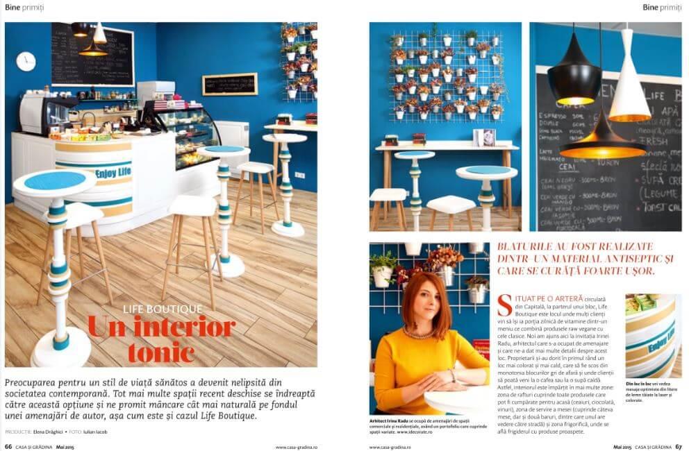 Revista Casa si Gradina - Editia Mai 2015