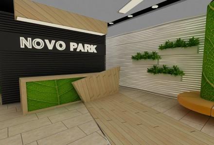 Receptie Novo Park – concept