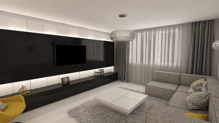 Design interior Apartament 3 camere Bucuresti Vitan