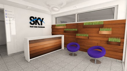 Design interior Pipera Sky Office Building