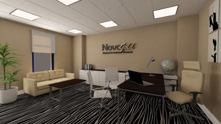 Amenajare birou NovoGold