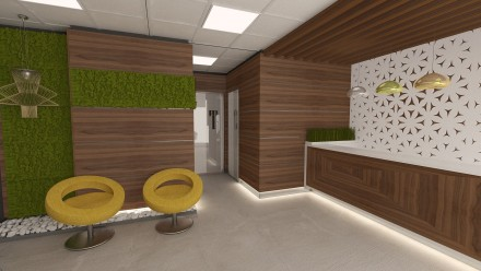 Design interior Clinica Kinetoterapie
