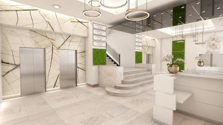 Design interior receptie City Business Center
