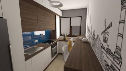 Amenajare interioara apartament 3 camere Onix Residence Bucuresti
