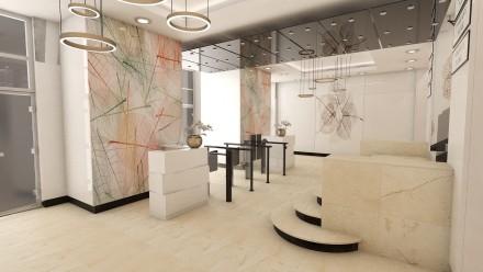 Amenajare interioara receptie City Business Center Bucuresti