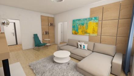 Amenajare interioara apartament 3 camere Ion Campineanu Bucuresti