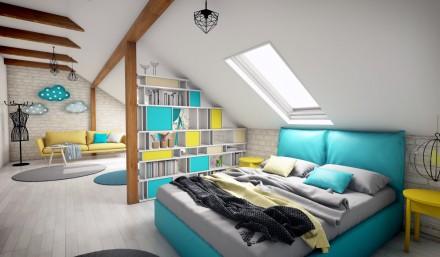 Design interior mansarda Ploiesti