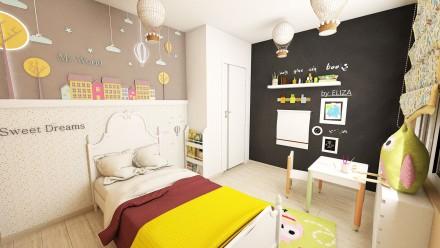 Design interior apartament 3 camere Tineretului