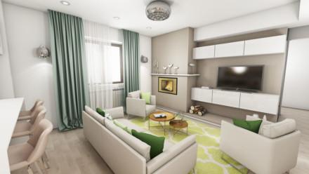 Design interior apartament Nordului – Bucuresti