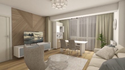 Design interior apartament Tineretului