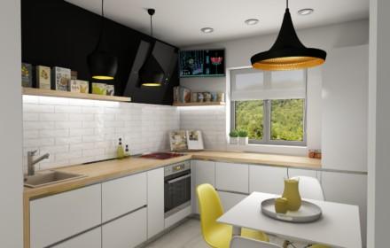 Design interior apartament 3 camere Unirii Bucuresti