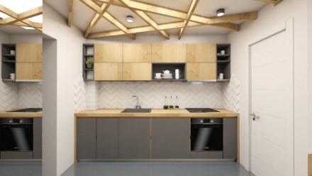 Design interior garsoniera transformata in 2 camere Bucuresti