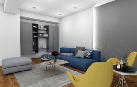 Amenajare interioara penthouse Titan Bucuresti