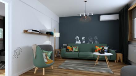 Amenajare interioara apartament Elisabeta