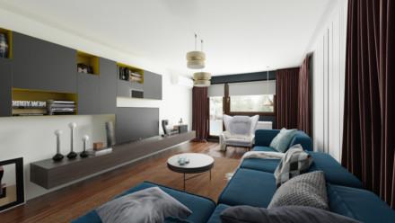 Design interior penthouse Unirii