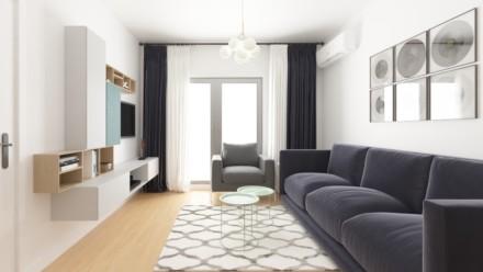 Design interior apartament 2 camere NovumInvest