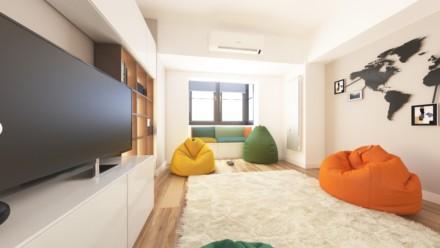 Design interior apartament 4 camere Octavian Goga