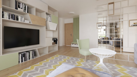 Design interior apartament Greenfield 2