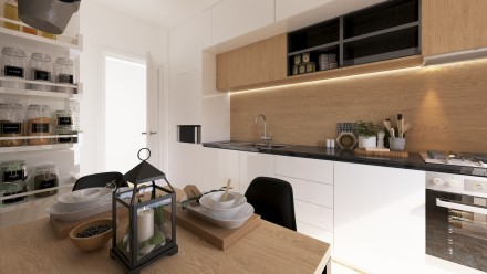 Design interior apartament Nerva Traian Bucuresti