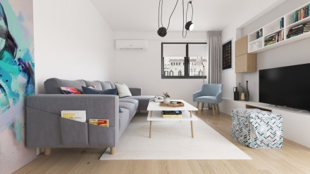 Design interior apartament Traian Bucuresti