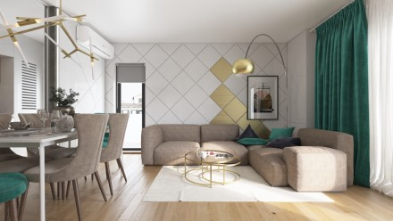 Design interior apartament sector 1 Bucuresti
