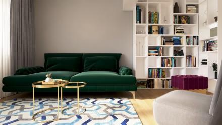 Amenajari interioare – Design interior apartament  4 camere Bucuresti