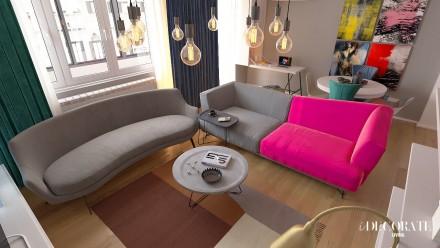 Design interior apartament 3 camere Baba Novac Residence