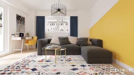 Amenajari interioare – apartament 3 camere R
