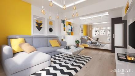 Design interior apartament 2 camere Bucuresti – S