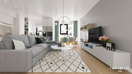 DESIGN INTERIOR APARTAMENT GALATI I