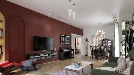 Design interior apartament 4 camere Bucuresti M I