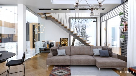 Design interior vila Pitesti