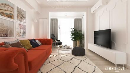 Design interior apartament Calea Victoriei Bucuresti