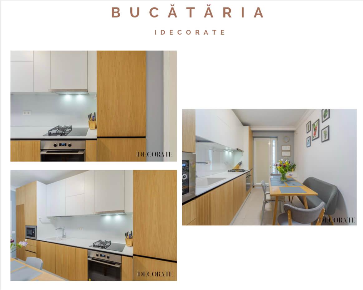 Culorile transformă un ambient – apartament în București amenajat modern, cu multe pete de culoare