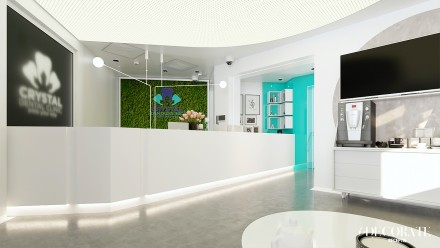 DESIGN INTERIOR CLINICA STOMATOLOGIE BUCURESTI C