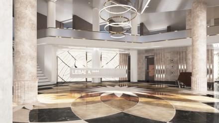 DESIGN INTERIOR RECEPTIE HOTEL LUX DELTA DUNARII