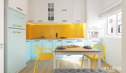 Design interior Nusco Residence Pop Art Apartament 2 camere 0