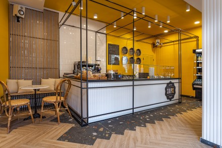Design interior restaurant Soup Up Bucuresti
